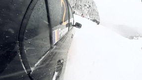 Transfagarasan Winter Spikes